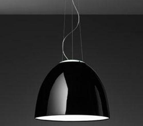 Artemide Nur Gloss hanglamp-zwart