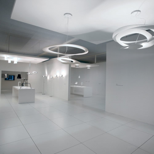 Artemide Pirce Micro LED Sospensione hanglamp-Wit