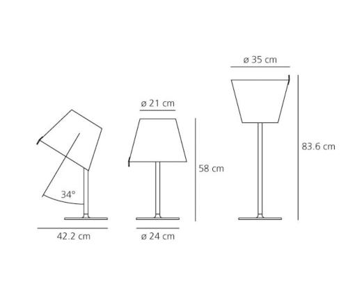 Artemide Melampo tafellamp-Small