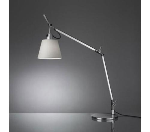 Artemide Tolomeo Basculante tavolo tafellamp-Satijn grijs