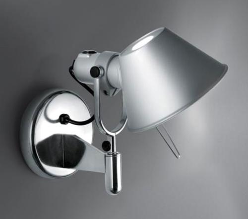 Artemide Tolomeo Faretto wandlamp-Met schakelaar