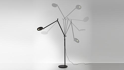 Artemide Demetra LED vloerlamp-zwart