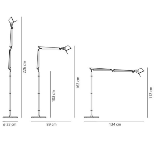 Artemide Tolomeo Terra LED vloerlamp