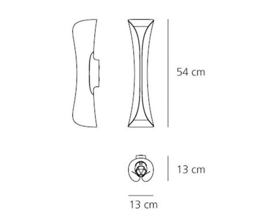 Artemide Cadmo wandlamp-Wit