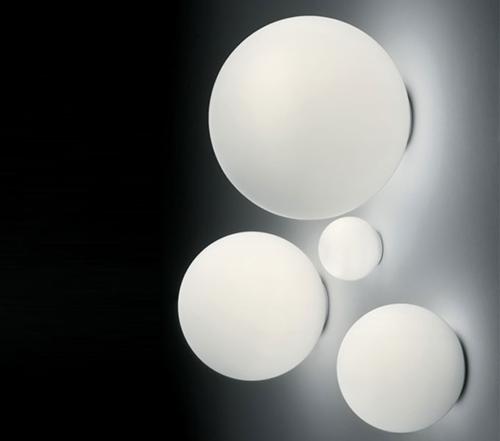 Artemide Dioscuri wandlamp-Kap ∅ 25 cm