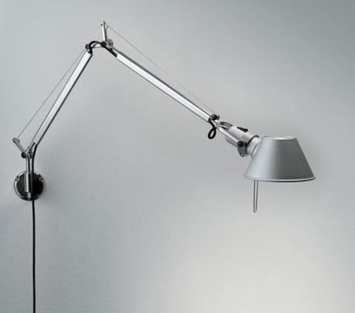 Artemide Tolomeo Mini Parete wandlamp aluminium