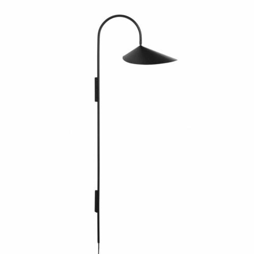 Ferm Living Arum lang wandlamp-Black