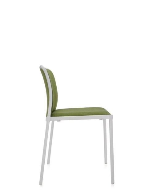 Kartell Audrey Soft wit stoel-Wit-zuurgroen-Zonder armleuning