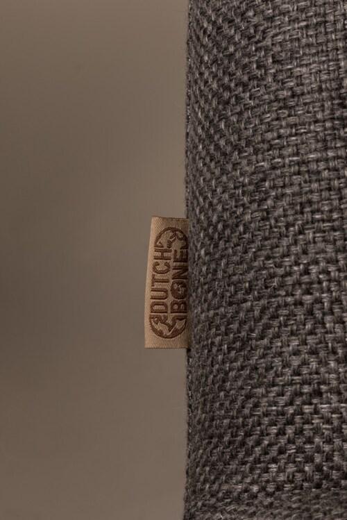 Dutchbone Bar Lounge stoel-Dark grey