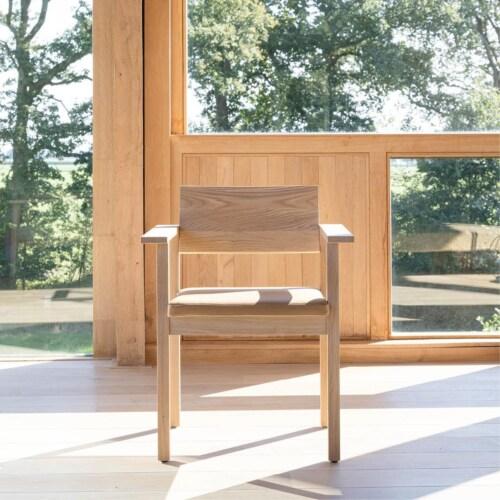 Studio HENK Base Chair-Hardwax oil light