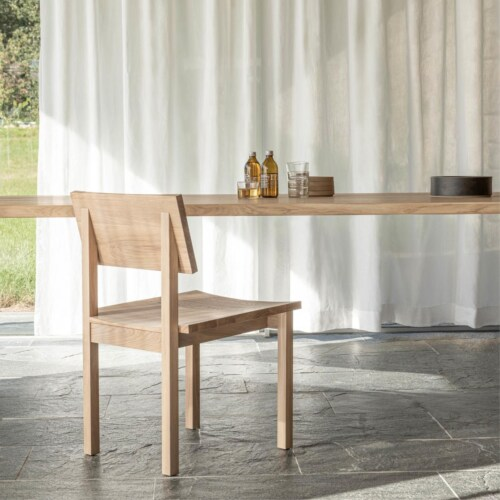 Studio HENK Base Chair-Hardwax oil natural