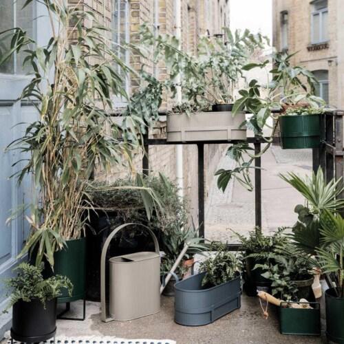Ferm Living Bau Balcony Box -Warm grijs