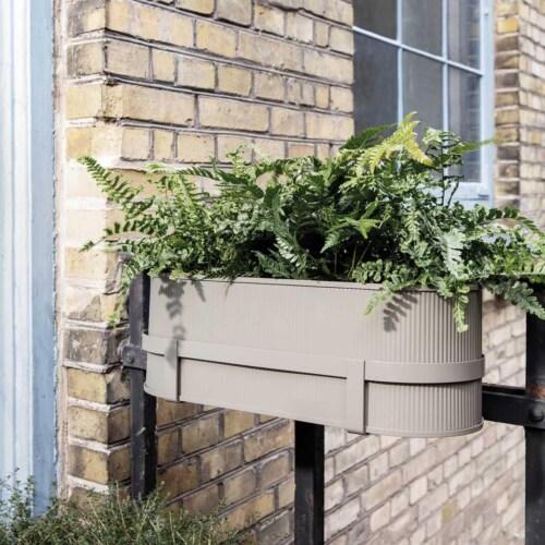 Ferm Living Bau Balcony Box -Donker groen