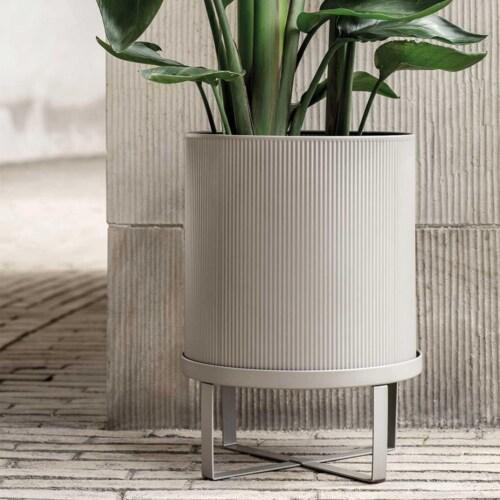 Ferm Living Bau bloempot-Warm grijs-Large