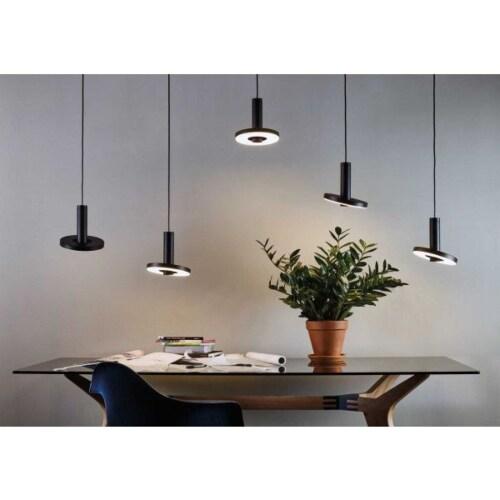 Tonone Beads LED set van 5 linear hanglamp