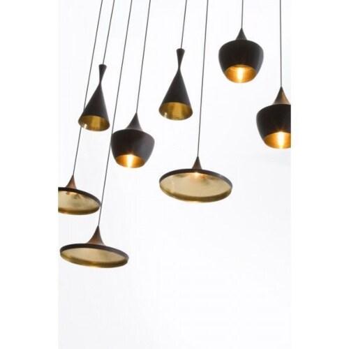 Tom Dixon Beat Light Wide hanglamp-Zwart