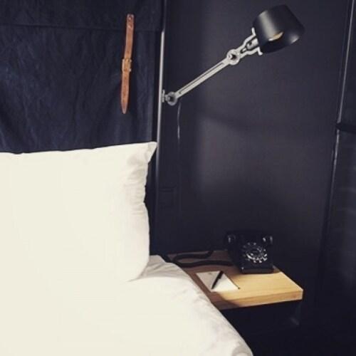 Tonone Bolt Bed Side Fit wandlamp-Ash grey