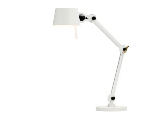 Tonone Bolt 2 Arm Small Foot bureaulamp-Pure white