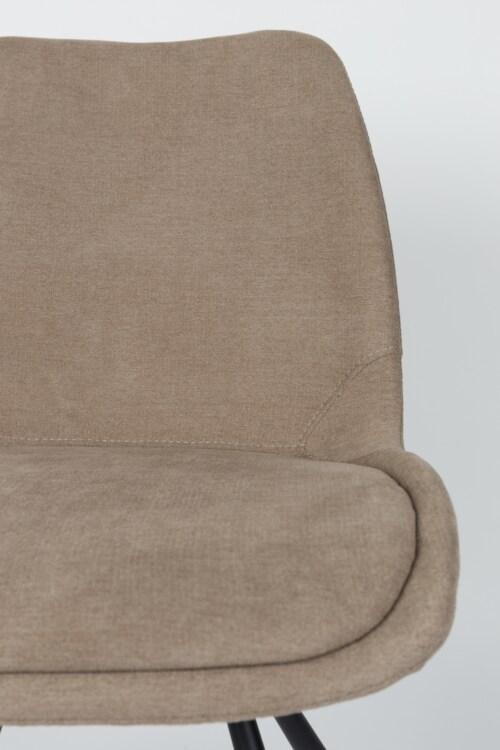 Zuiver Brent stoel-Zand