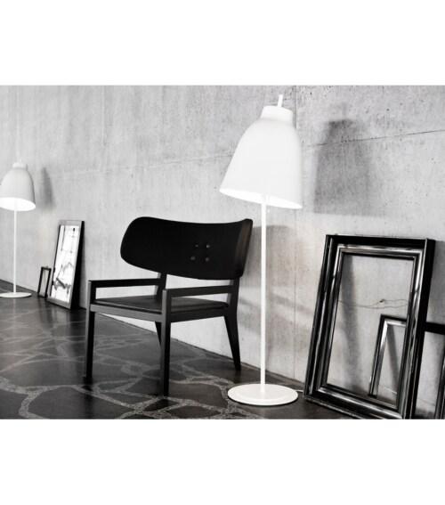 Lightyears Caravaggio vloerlamp hoogglans wit