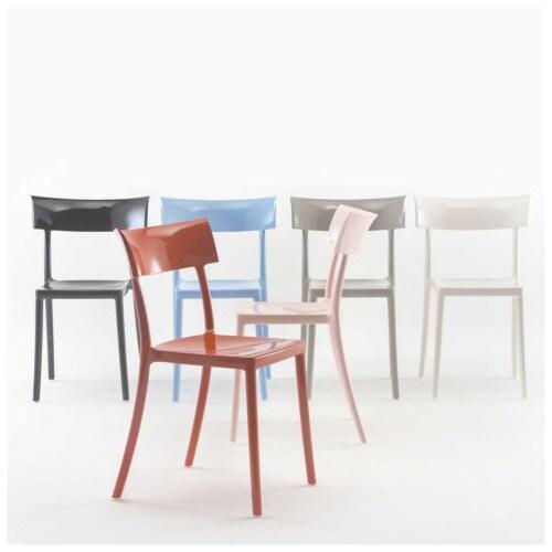 Kartell Catwalk stoel-Zwart