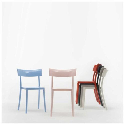 Kartell Catwalk stoel-Roestoranje