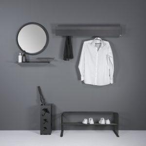Torna Design Chaperone wandkapstok-118x21 cm
