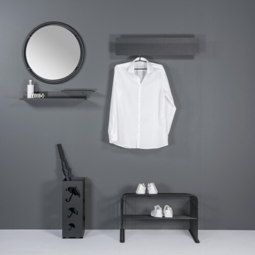 Torna Design Chaperone wandkapstok-78x21 cm