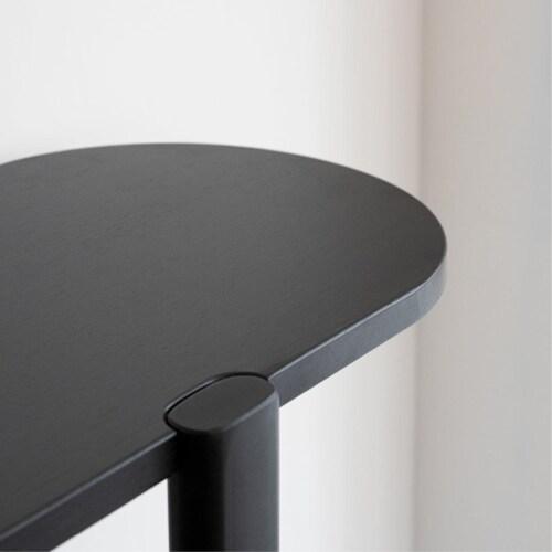 Studio HENK Oblique Cabinet OB-5L zwart frame-155 cm (2 frames)-Hardwax oil natural