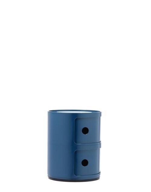 Kartell Componibili kastje -2 hoog-Blauw