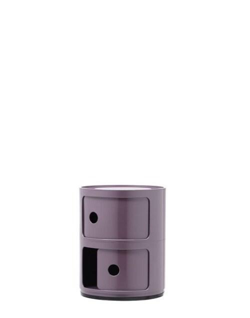 Kartell Componibili kastje -2 hoog-Paars