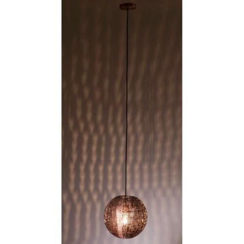 Dutchbone Cooper round hanglamp-Ø  40 cm