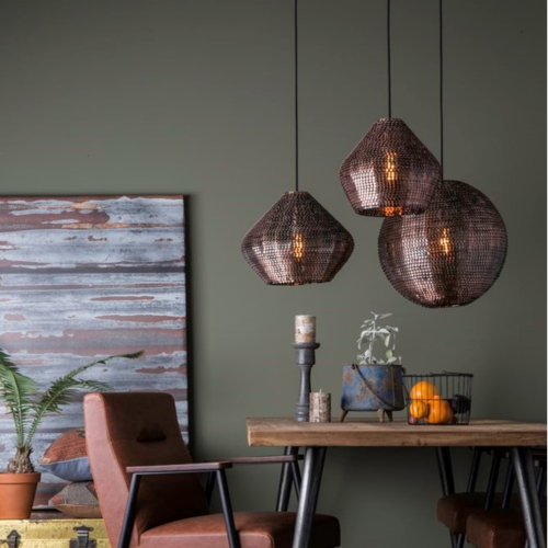 Dutchbone Cooper hanglamp-Ø  30 cm
