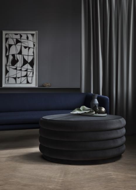 Ferm Living Turn Sofa 3-zits bank katoen-L. Grey/D.Grey