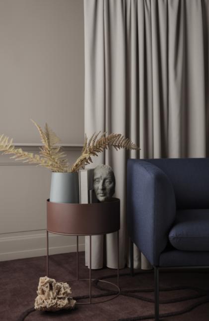 Ferm Living Turn Sofa 3-zits bank wol-Blue/Light Grey