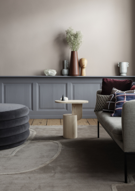Ferm Living Turn Sofa 2-zits bank katoen-Dark grey