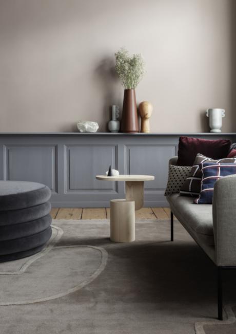 Ferm Living Turn Sofa 3-zits bank Fiord-591 Bordeaux