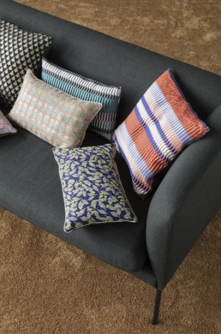 Ferm Living Turn Sofa 2-zits bank wol-Dark grey