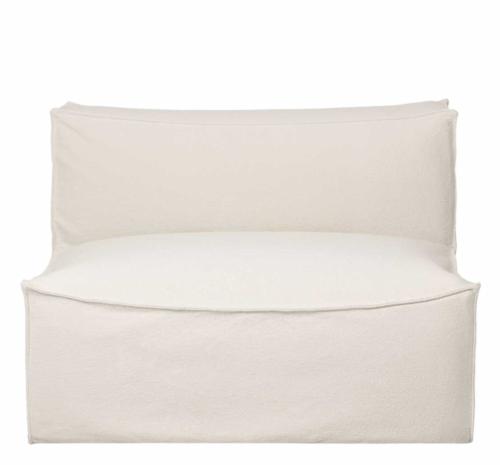 Ferm Living Catena 3,5-zits bank-Dry Cotton Slub