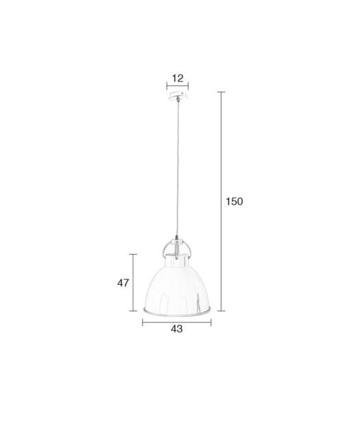 Zuiver Deliving hanglamp-Koper