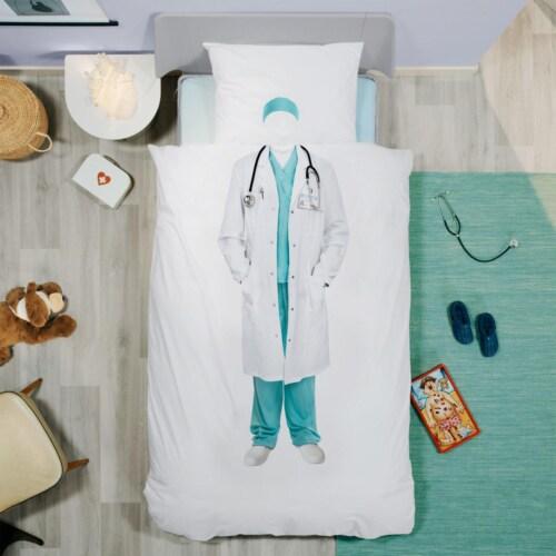 Snurk Doctor dekbedovertrek-240x200/220 cm