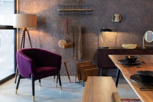Dutchbone Dolly Lounge fauteuil -Purple