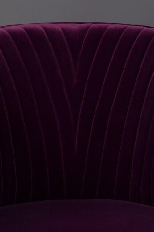 Dutchbone Dolly stoel-Purple