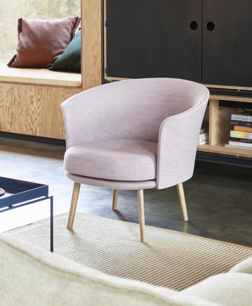 HAY Tapis vloerkleed-Off White and Lavender-170x240 cm