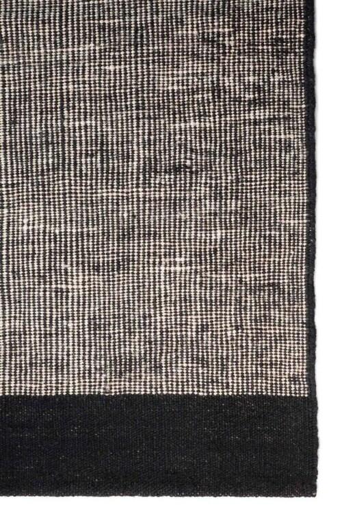 Ethnicraft Black Dots kilim vloerkleed-200x300 cm