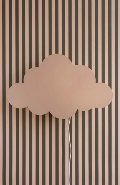 Ferm Living Cloud wandlamp-Dusty rose