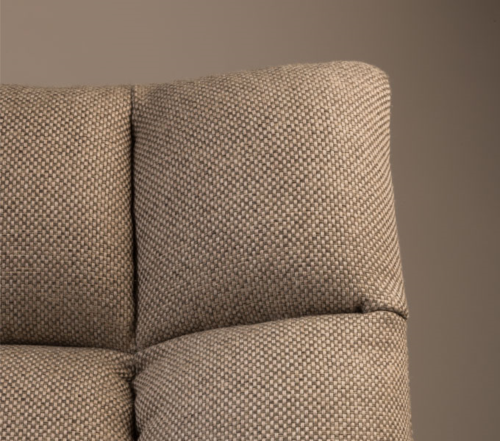 Dutchbone Bar Lounge stoel-Light grey