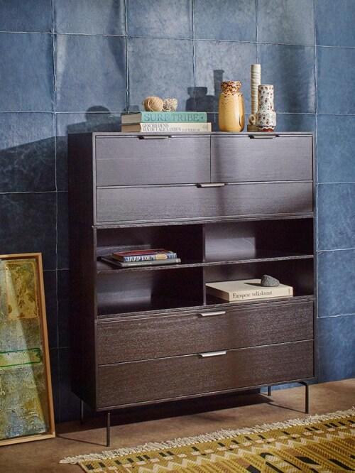 HKliving Modular Cabinet kast element E-Zwart