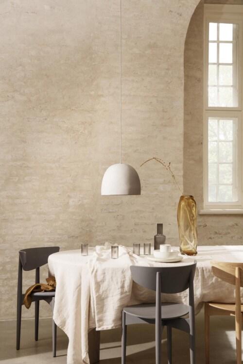 Ferm Living Herman Wood Dining Chair eetkamerstoel-Warm Grey
