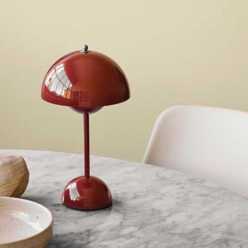 &tradition Flowerpot VP9 draagbare tafellamp-Stone Blue